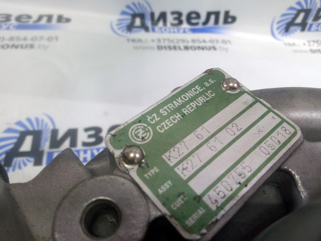 купить турбину ТКР К27-61