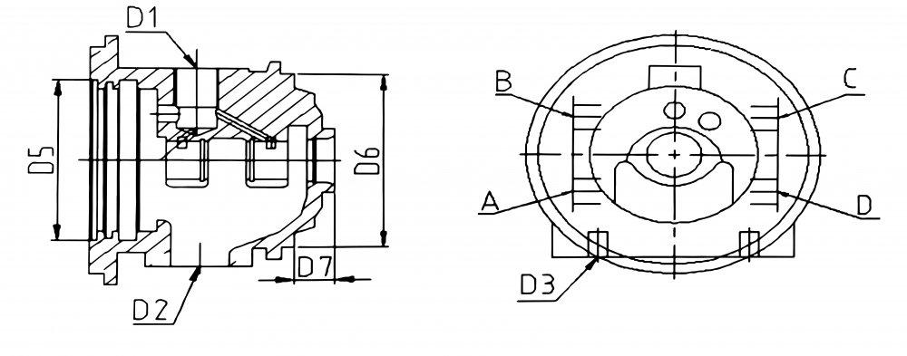 купить средник 1900-011-152B турбины TD04-11G-4